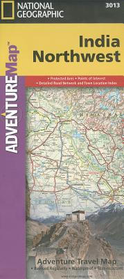 National Geographic Adventure Map Northwest India